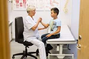 Healthcare child assistant