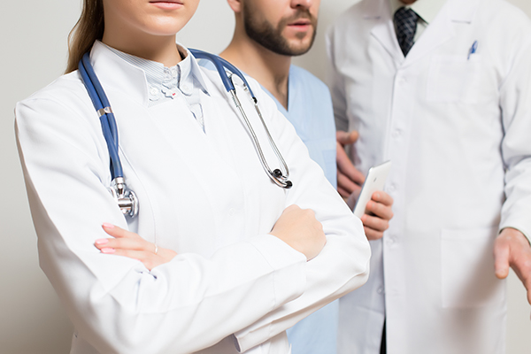 Medical job at public and private industry